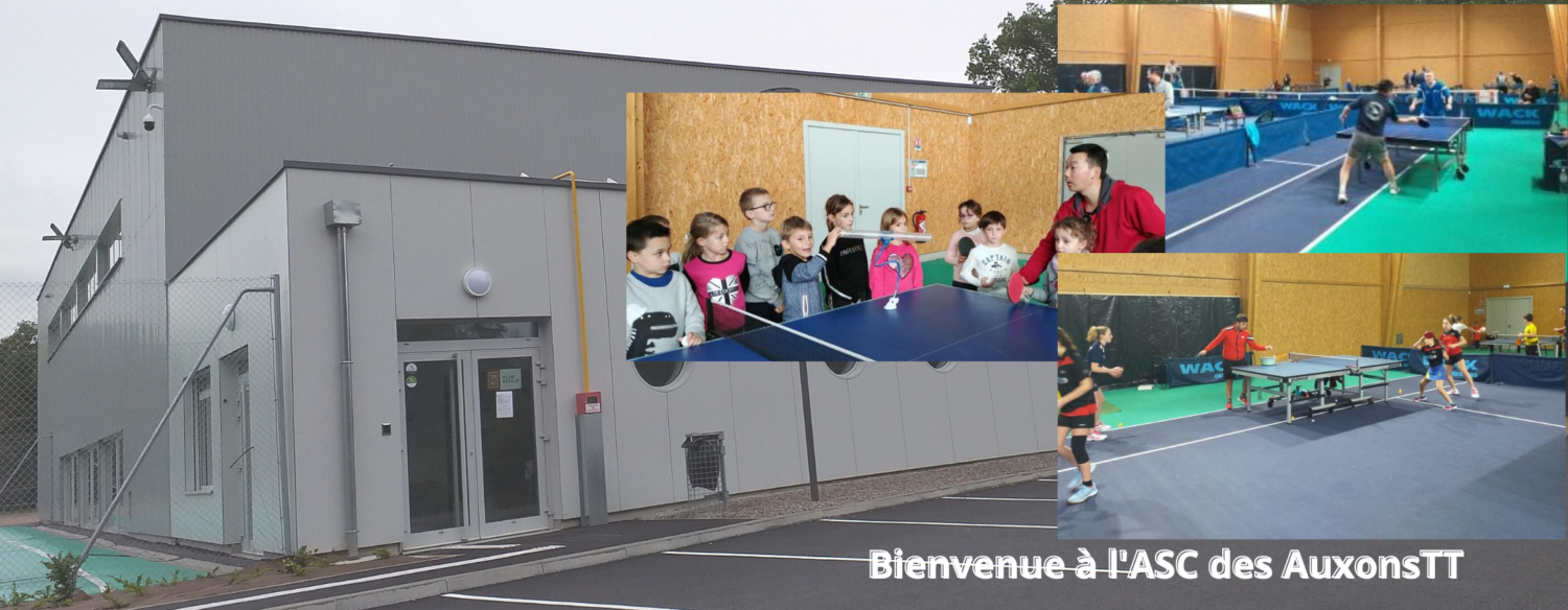 ASC DES AUXONS TENNIS DE TABLE
